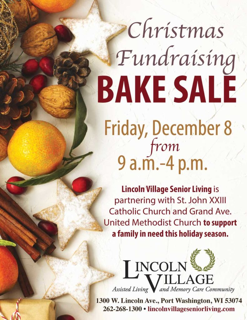 Christmas Fundraising Bake Sale