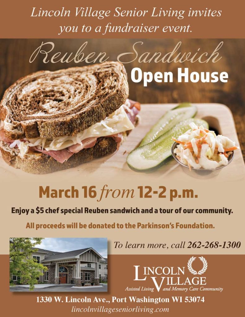 Reuben Sandwich Open House