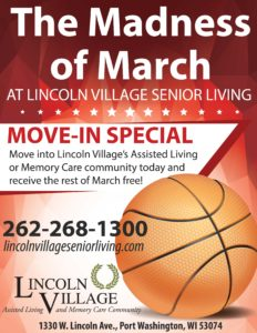Lincoln Village Senior Living March 2018 Rent Special