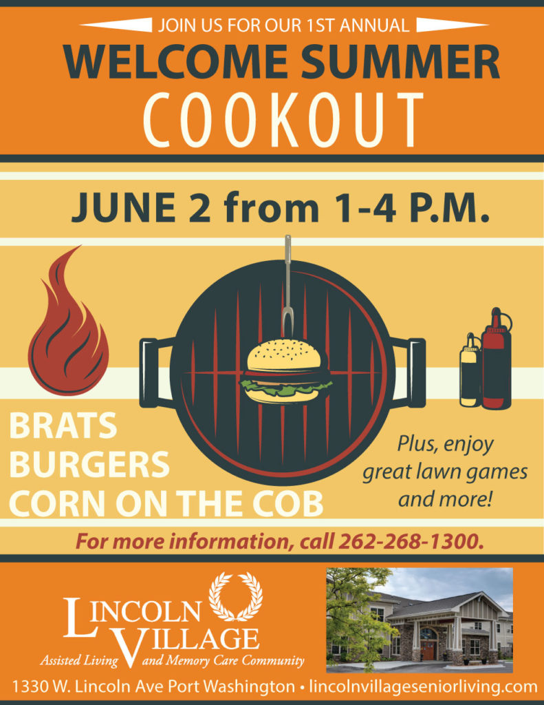 Lincoln Village Senior Living Welcome Summer Cookout
