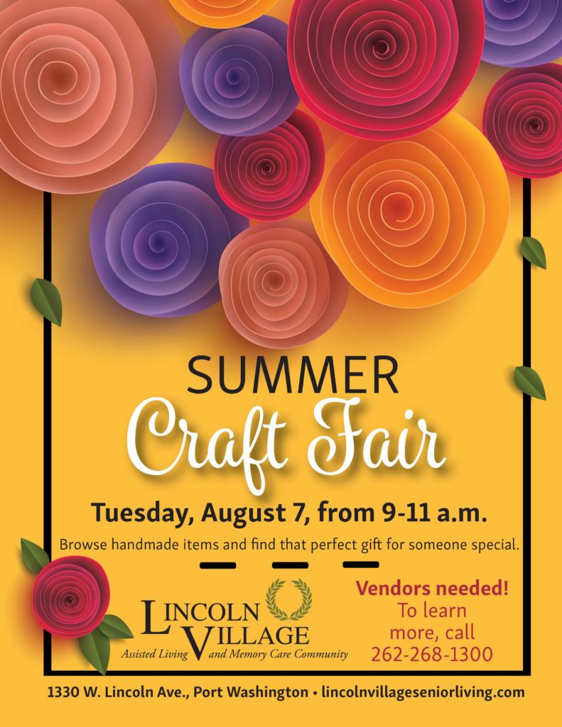 Lincoln Village Summer Craft Fair