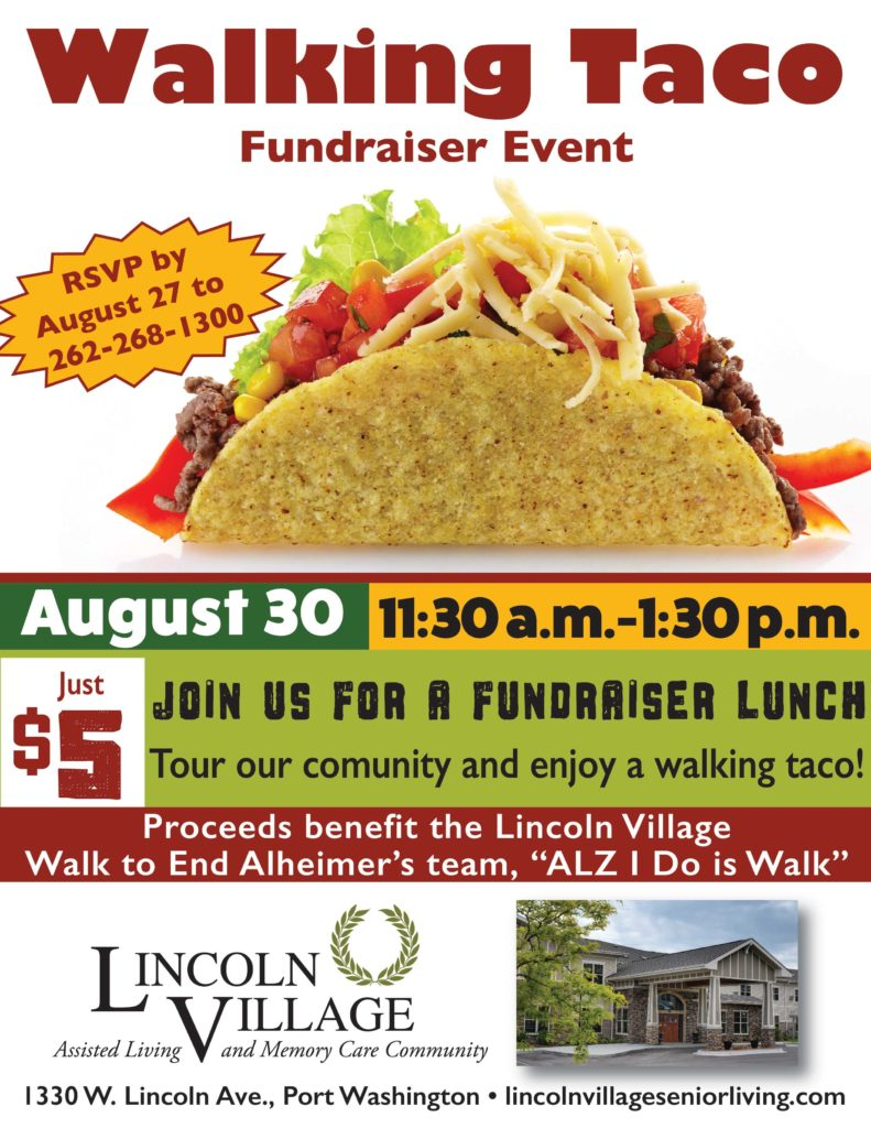 Lincoln Village Senior Living Walking Taco Open House