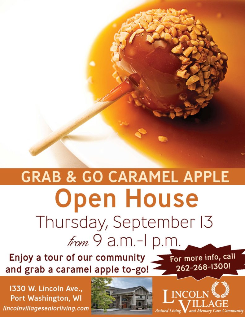 Lincoln Village Senior Living Caramel Apple Open House