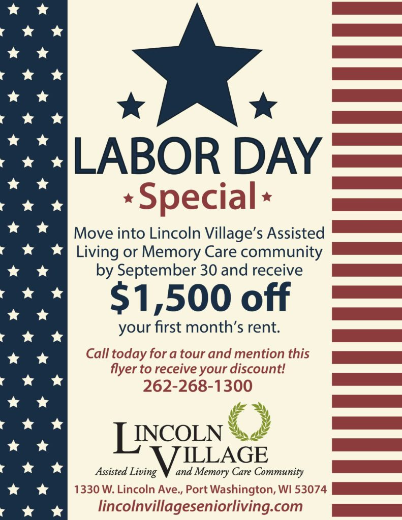 Labor Day Rent Special