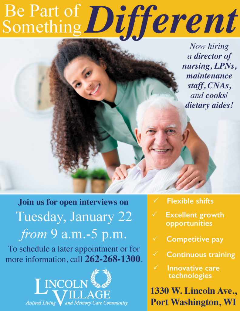 Lincoln Village Senior Living Career Fair
