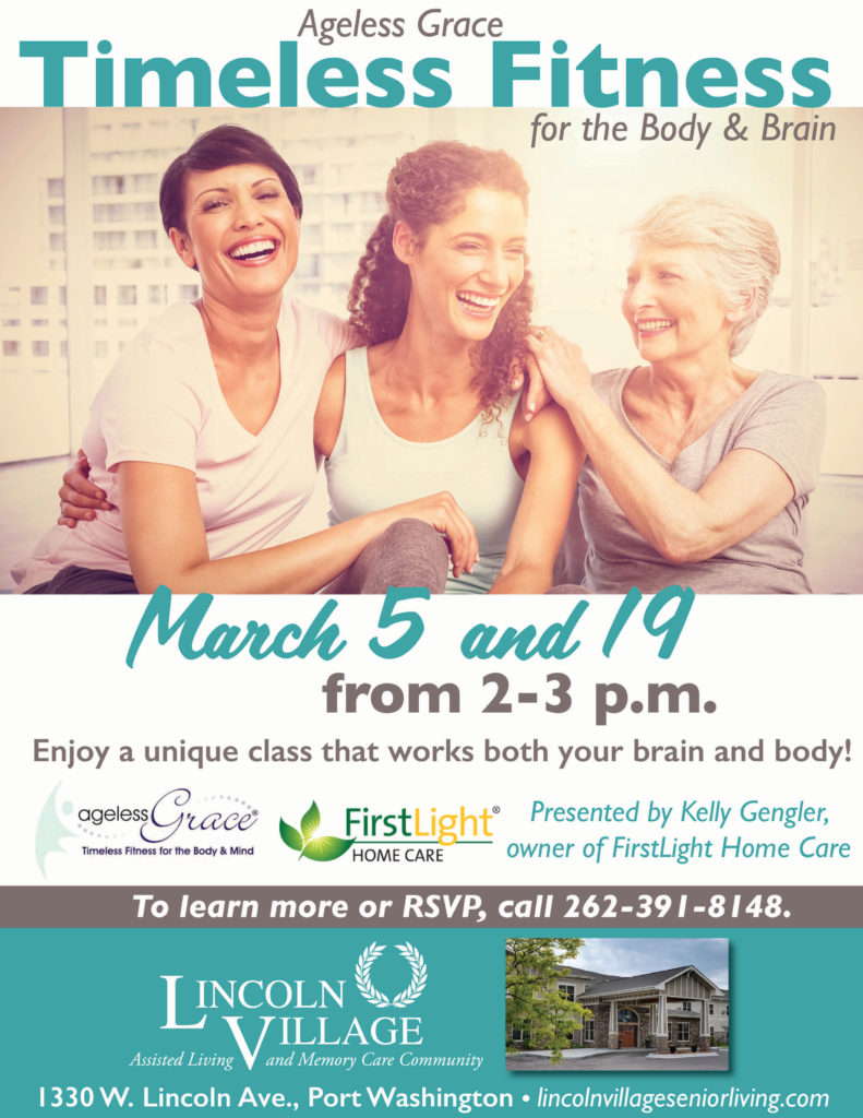 Ageless Grace Timeless Fitness at Lincoln Village Senior Living
